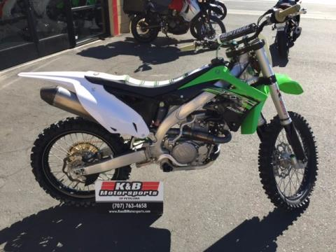 2015 Kawasaki KX™450F in Petaluma, California