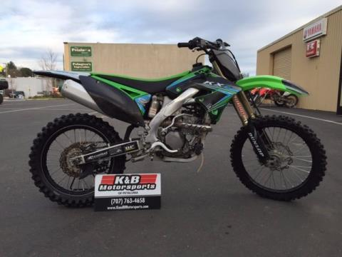 2011 Kawasaki KX™250F in Petaluma, California