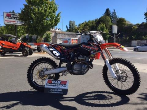 2014 KTM 350 SX-F in Petaluma, California