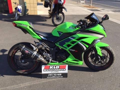 2014 Kawasaki Ninja® 300 ABS SE in Petaluma, California