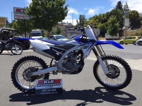 2014 Yamaha YZ250F  in Petaluma, California