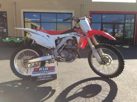 2013 Honda CRF®450R in Petaluma, California