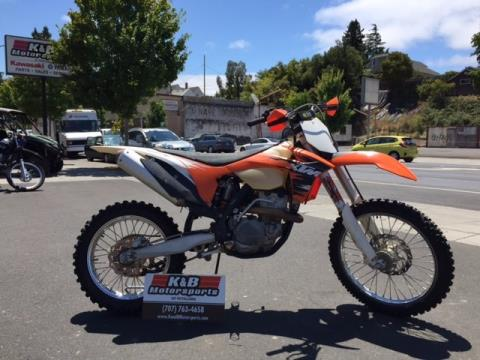 2011 KTM 350 XC-F in Petaluma, California