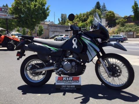 2009 Kawasaki KLR™650 in Petaluma, California
