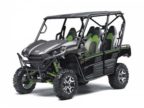 2016 Kawasaki Teryx4™ EPS LE Metallic Flat Raw Graystone in Rockingham, North Carolina