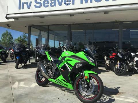 2014 Kawasaki Ninja® 300 SE in Orange, California
