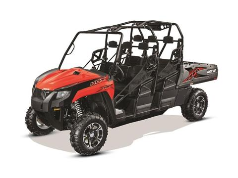 2017 Arctic Cat HDX™ 700 Crew XT™ Fire Red in Wickenburg, Arizona