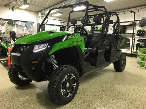 2017 Arctic Cat HDX™ 700 Crew XT™ Team Arctic Green in Independence, Iowa