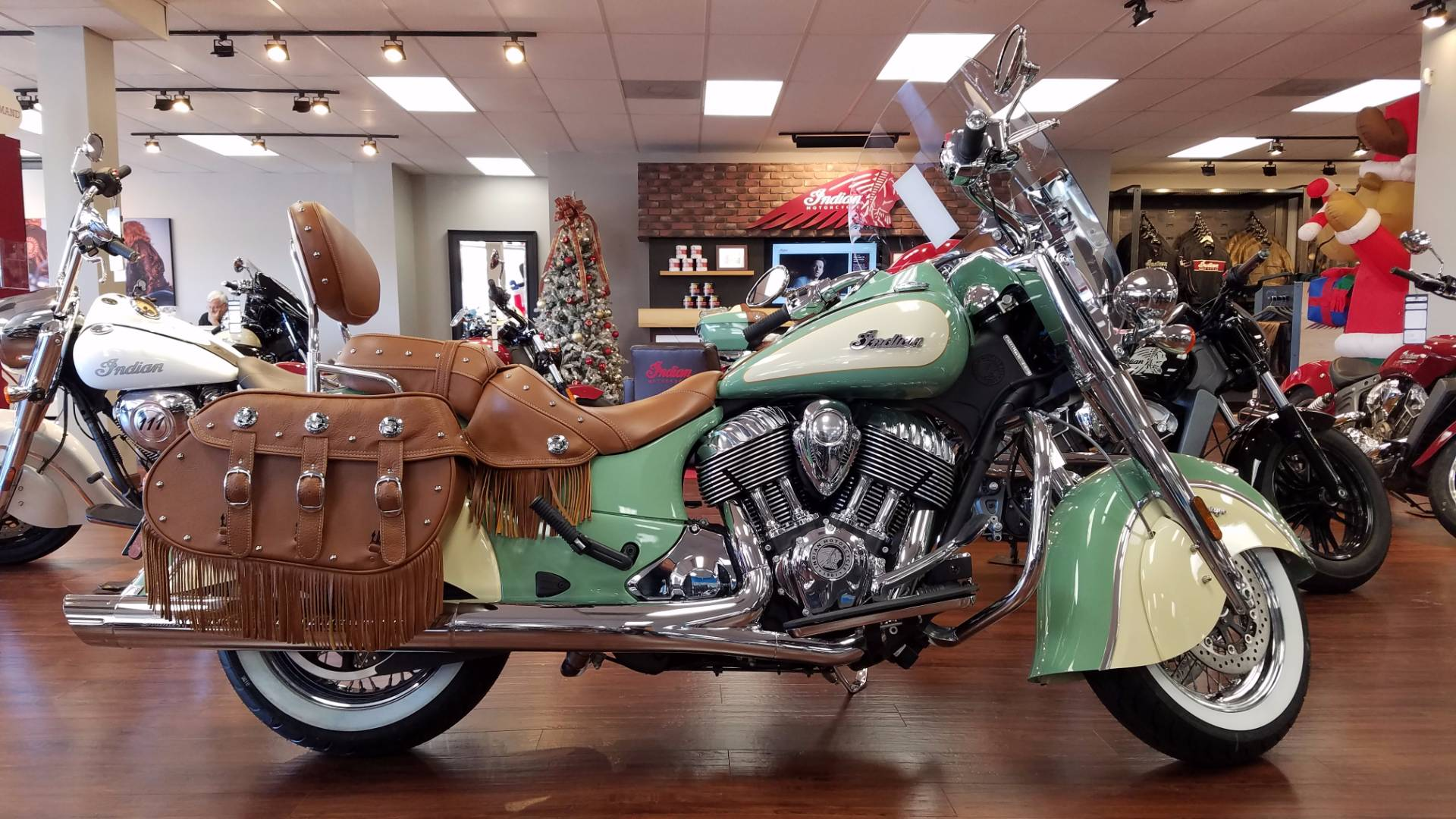 2016 indian chief vintage green 2016 indian chief for Honda and yamaha of knoxville