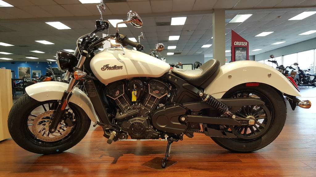 2016 indian scout sixty pearl white white 2016 indian for Honda and yamaha of knoxville