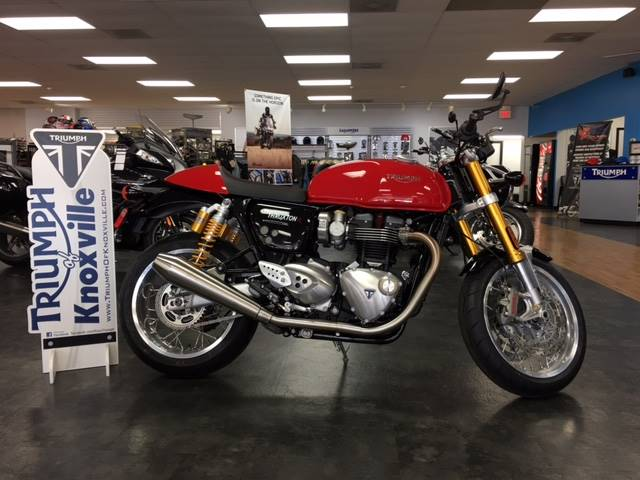 2016 triumph thruxton 1200 r red 2016 triumph thruxton for Honda and yamaha of knoxville