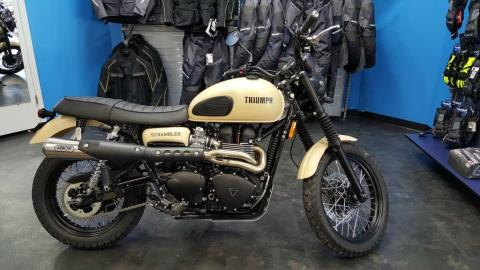 2016 Triumph Scrambler Jet Black in Knoxville, Tennessee