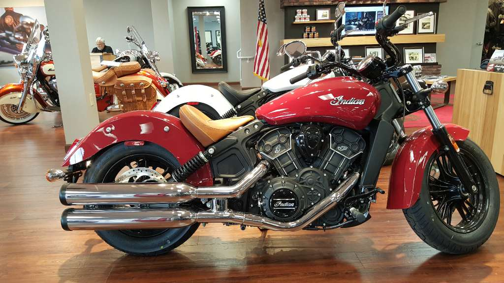 2016 Scout Sixty Indian Red