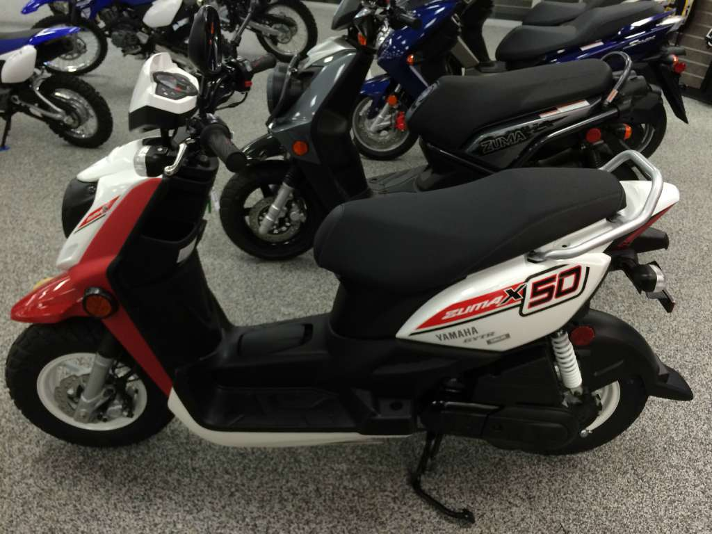New 2015 yamaha zuma 50fx scooters in knoxville tn for Honda and yamaha of knoxville
