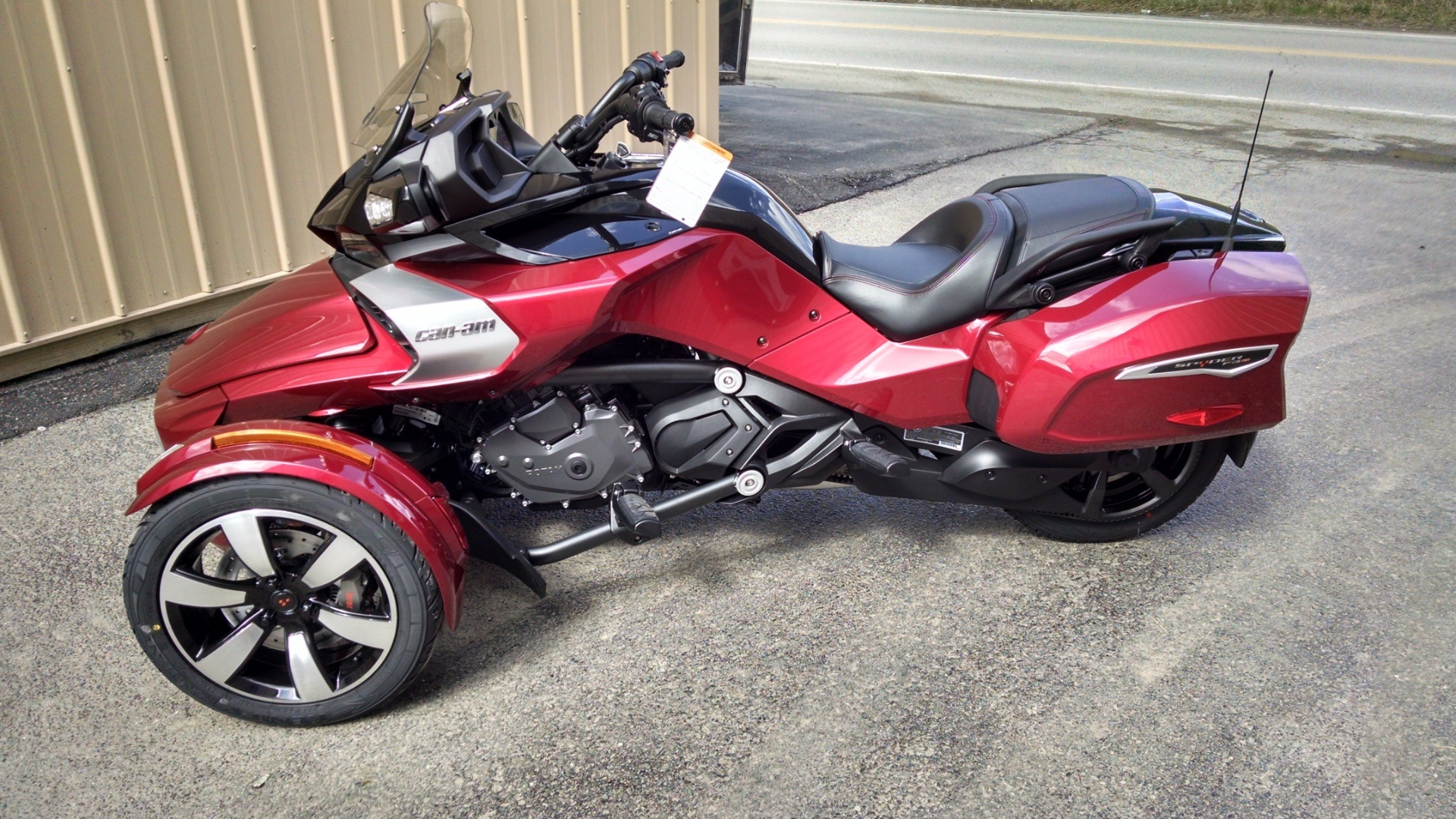 2016 can am spyder f3 t for sale claysville pa 526327. Black Bedroom Furniture Sets. Home Design Ideas