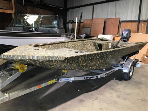 2017 Alumacraft WATERFOWLER 16 CAMO in Newberry, South Carolina