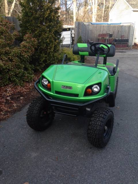 2014 E-Z-Go TXT Electric in Exeter, Rhode Island