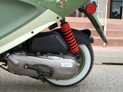 2017 Genuine Scooters Buddy 50 Italia in Fort Collins, Colorado