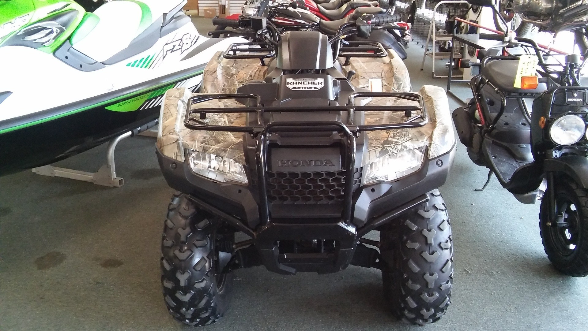 2014 Honda FourTrax Rancher 4x4 with EPS