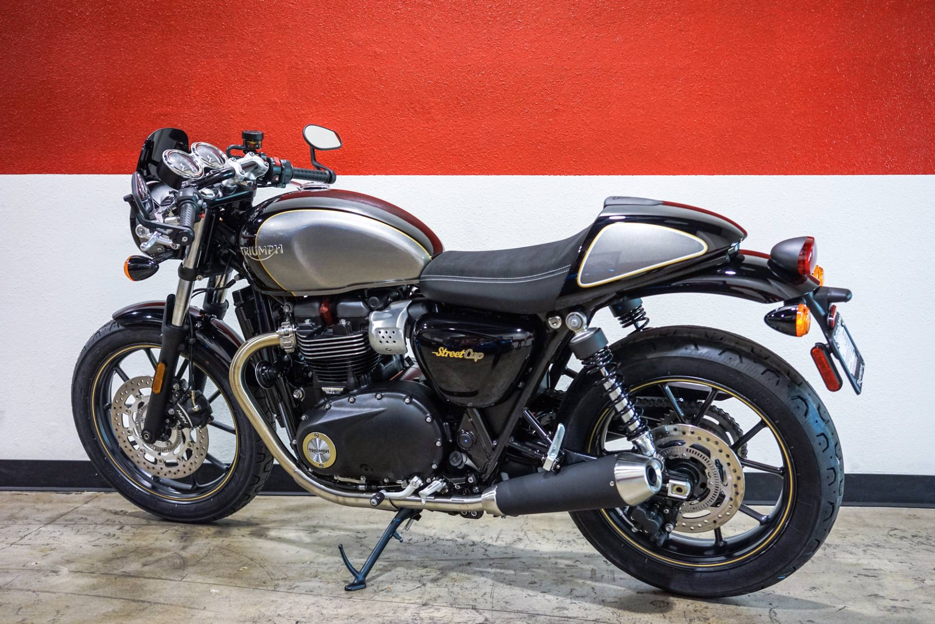 New 2017 Triumph Street Cup Motorcycles In Brea Ca