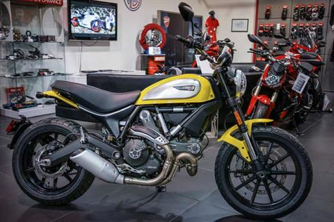 2016 Ducati Scrambler Icon in Brea, California