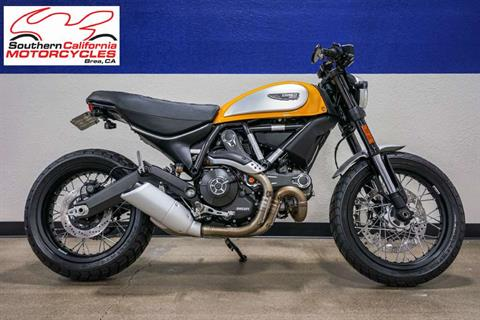 2016 Custom 2016 Custom Ducati Scrambler Classic - British Customs in Brea, California
