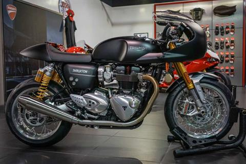 2016 Custom 2016 Triumph Thruxton 1200 R in Brea, California