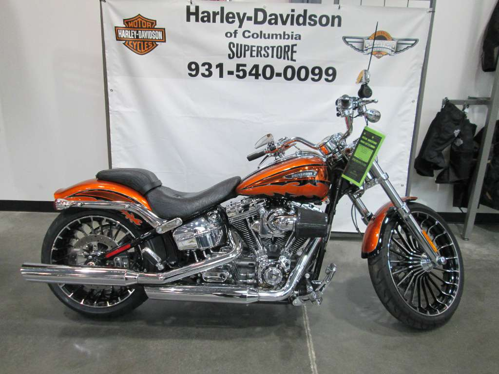 used 2014 harley-davidson cvo™ breakout® motorcycles in columbia, tn