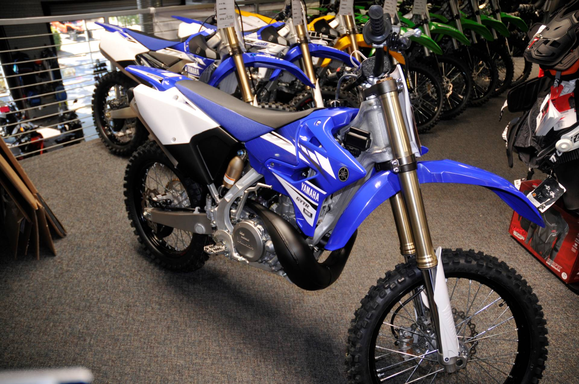 New 2017 yamaha yz250 motorcycles in roseville ca stock for Yamaha of roseville