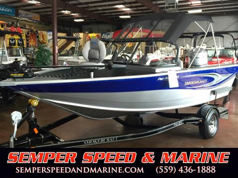 2016 Smoker Craft 182 Pro Angler XL in Madera, California