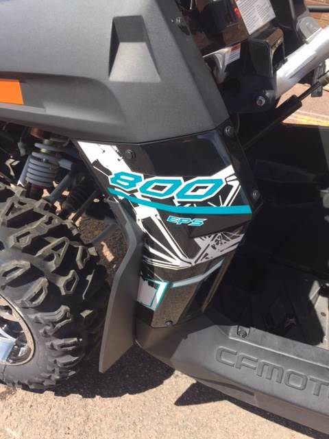 2015 CFMOTO ZForce 800 EPS in Mitchell, South Dakota
