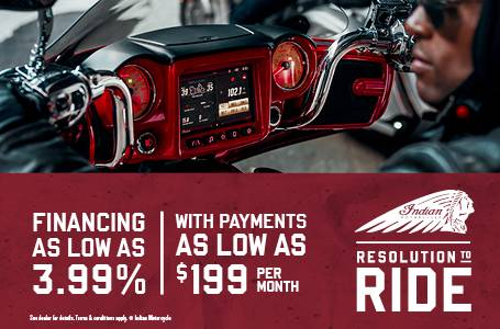 Indian Resolution To Ride - Thunderstroke®111 Offers