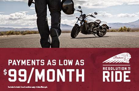 Indian Resolution To Ride - Scout®& Scout® Sixty Offers
