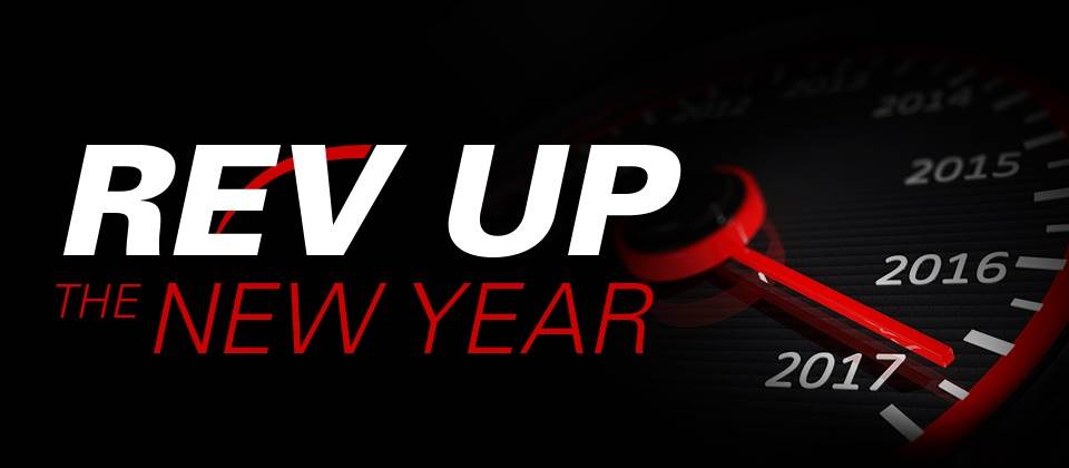 DUCATI REV UP THE NEW YEAR