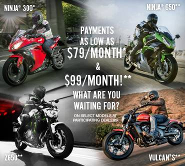 Kawasaki Ninja® 300 Offer!