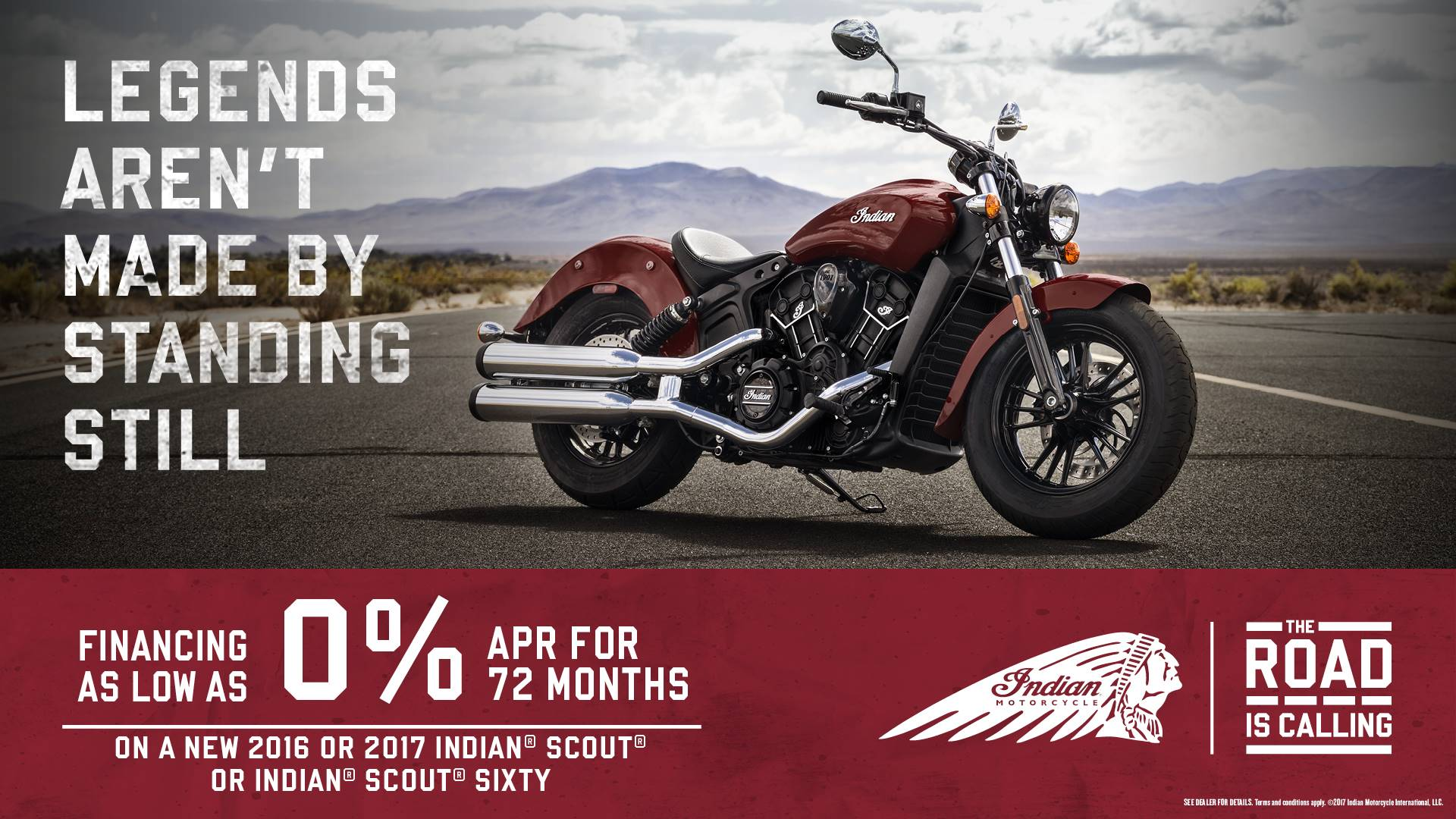 Indian Scout & Scout Sixty Offers