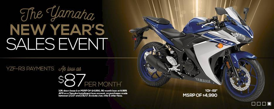 The Yamaha NEW YEAR'S SALES EVENT - Street Motorcycle - Adventure Touring/Dual Sport - 3.99% APR + $200 - MY2015