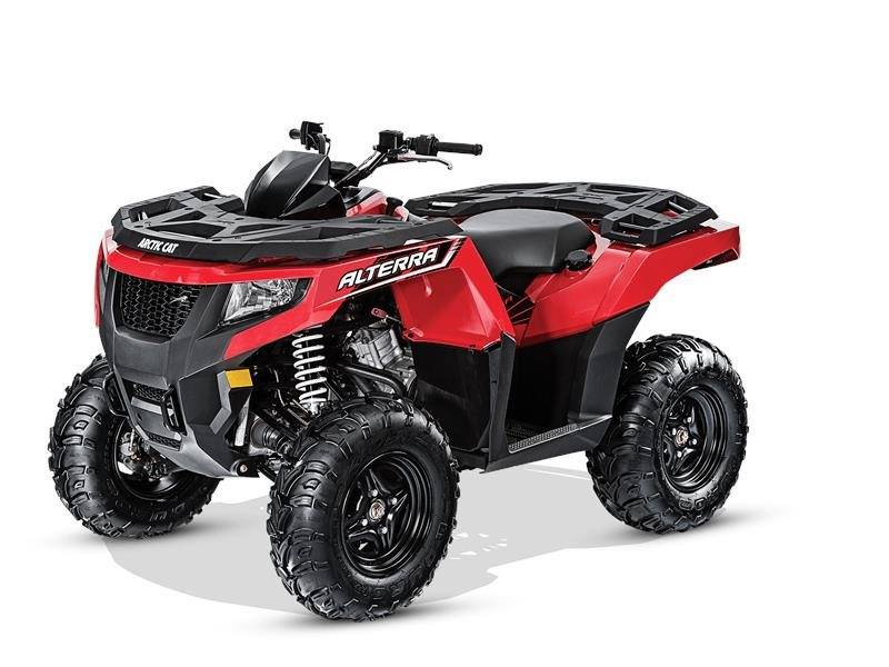 2016 Arctic Cat Alterra 550 in Harrisburg, Illinois