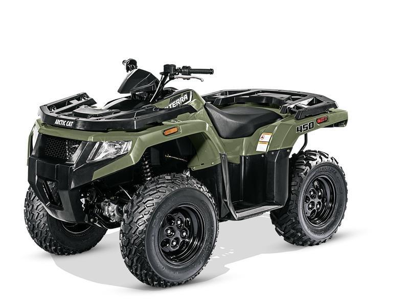 2016 Arctic Cat Alterra 450 in Harrisburg, Illinois