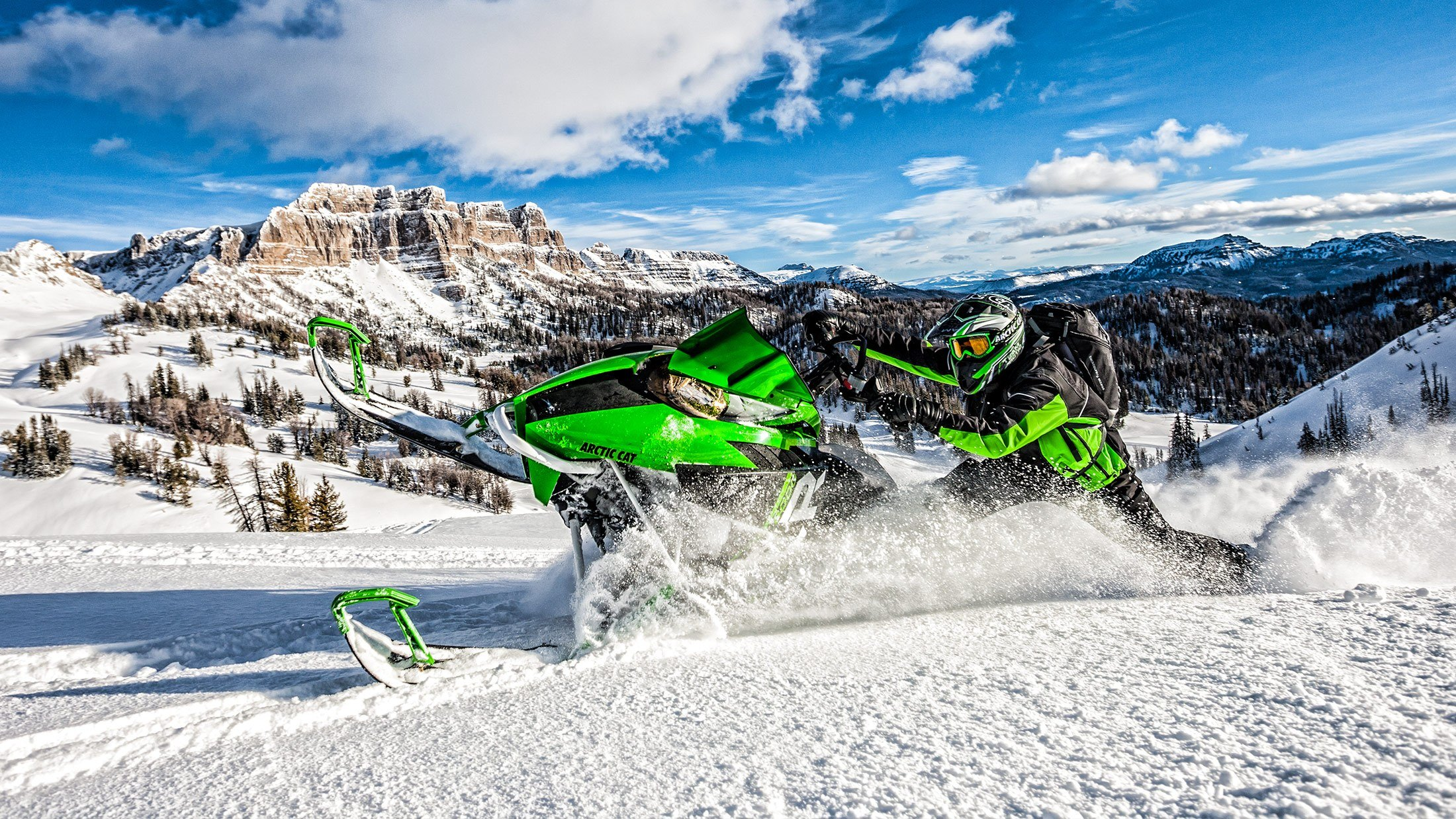 """2016 Arctic Cat M 8000 162"""" Limited in Trego, Wisconsin"""