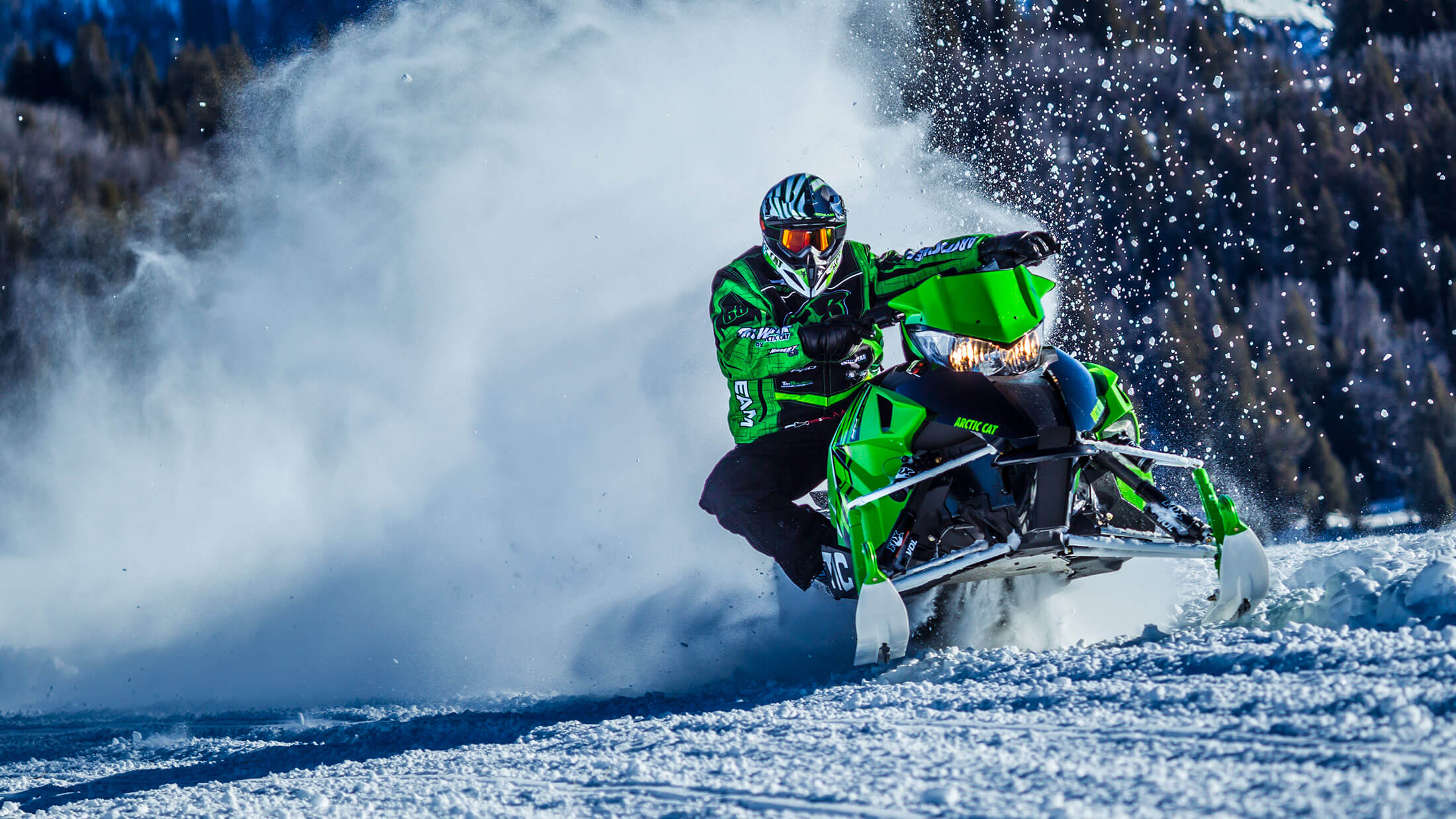 "2016 Arctic Cat ZR® 9000 137"" Limited ES in Trego, Wisconsin"