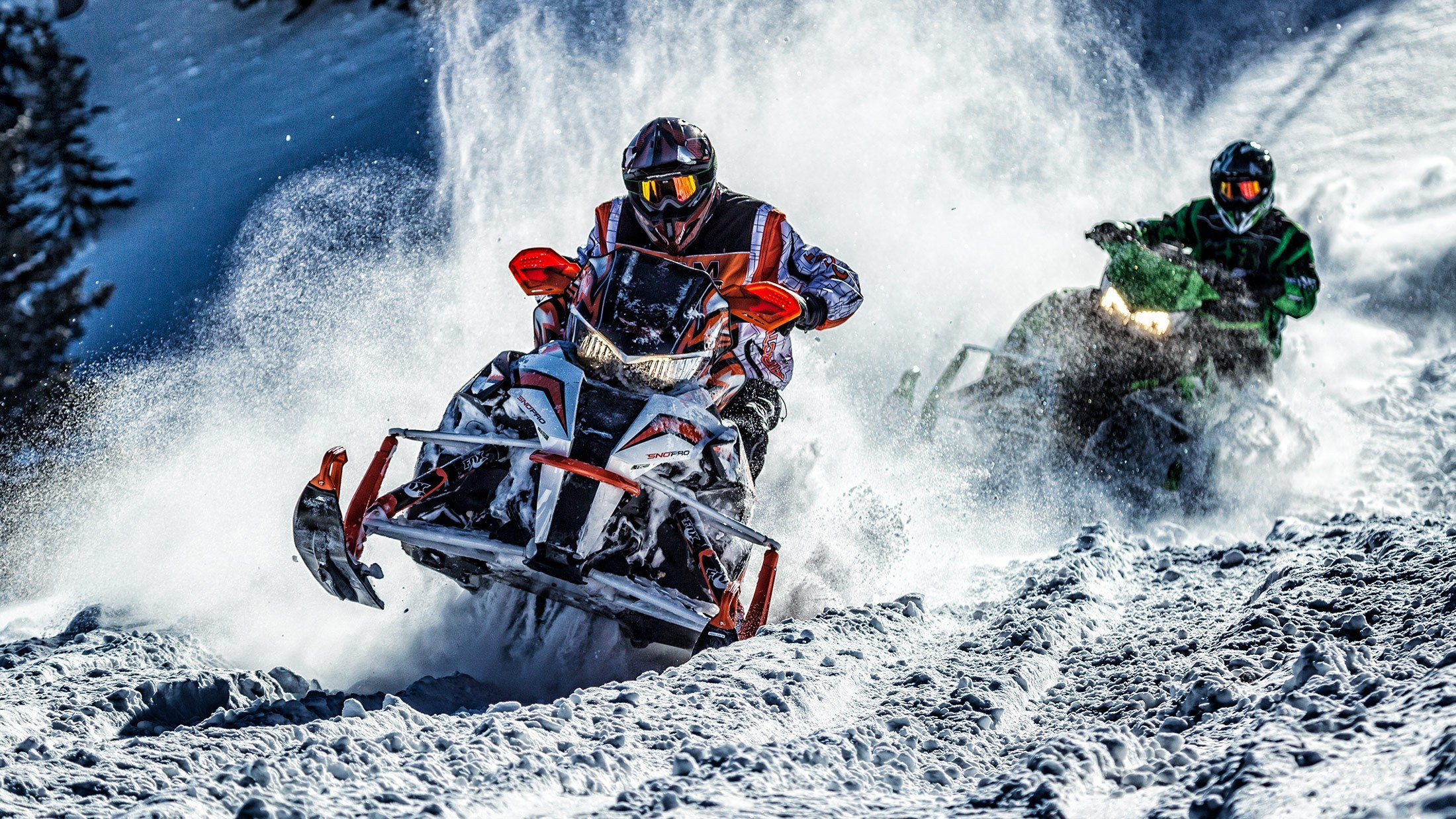 "2016 Arctic Cat ZR® 9000 137"" Sno Pro® ES in Trego, Wisconsin"