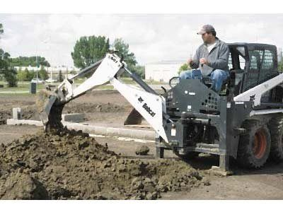 2016 Bobcat 406 Backhoe in Springfield, Missouri