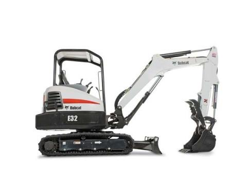 2016 Bobcat E32 T4 Extendable Arm in Lima, Ohio