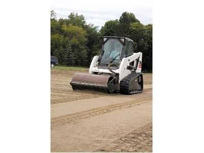 2016 Bobcat 80 in. Vibratory Roller - Smooth Drum in Lima, Ohio