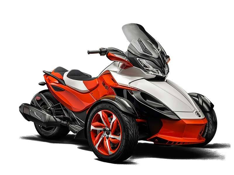 2015 Can-Am Spyder® ST-S Special Series SE5 in Hanover, Pennsylvania