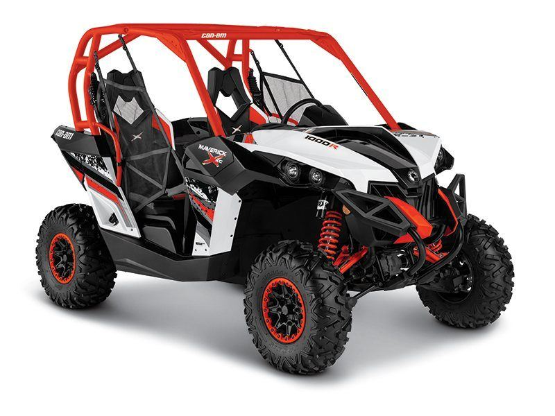 White / Black / Can-Am Red (Red Cage)