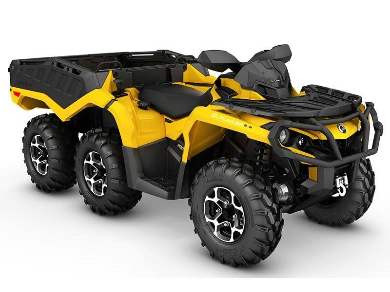 2016 Can-Am Outlander™ 6X6 XT™ 1000 in Columbia, South Carolina