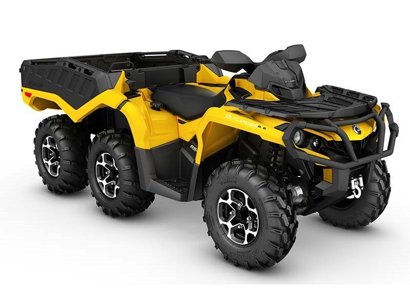 new 2016 can am outlander 6x6 xt 650 atvs in bensalem pa. Black Bedroom Furniture Sets. Home Design Ideas