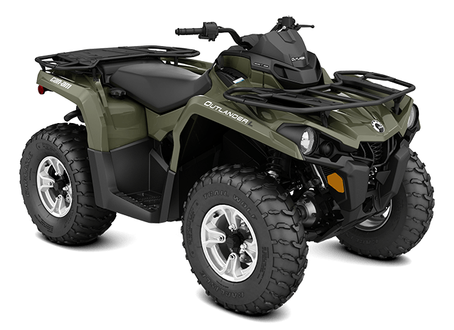 2016 Can-Am Outlander™ L DPS 450 in Barre, Massachusetts